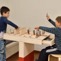 8. Παιχνίδια και δραστηριότητες στην εκπαιδευτική-διαδραστική σοφίτα του Μουσείου (Δωρεά του Ιδρύματος Σταύρος Νιάρχος). / Playing while learning in the Interactive Exhibits & Technology Hall (Donation by the Stavros Niarchos Foundation).