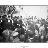 18. H επίσημη τελετή της Ένωσης της Κρήτης με την Ελλάδα, Χανιά, 1 Δεκεμβρίου 1913. / The official ceremony of Crete's Union with Greece. Hania, December 1, 1913.
