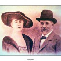 38. O Ελευθέριος Βενιζέλος και η δεύτερη σύζυγός του Έλενα Σκυλίτση-Βενιζέλου. / Eleftherios Venizelos and his second wife, Elena Skylitsi - Venizelou.