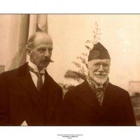 54. Ο Ελευθέριος Βενιζέλος με τον πρωθυπουργό της Τσεχίας κατά τη διάρκεια της τελευταίας τετραετίας διακυβέρνησής του. / Eleftherios Venizelos with the Czech Premier during the period 1928-1932.
