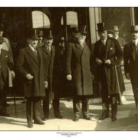 56. Ο Ελευθέριος Βενιζέλος σε επίσκεψη στη Βουδαπέστη κατά τη διάρκεια της τελευταίας τετραετίας διακυβέρνησής του. / Eleftherios Venizelos visiting Budapest during the period 1928-1932.