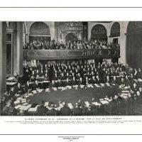 57. H εναρκτήρια συνεδρίαση της Συνδιάσκεψης της Χάγης, 1929. (Εφημ. L' Illustration, 17 Αυγούστου 1929). / The inaugural meeting of the Conference of Hague, 1929. (Newspaper L' Illustration, August 17, 1929).