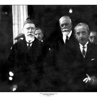 61. Ο Ελευθέριος Βενιζέλος με τον Ισμέτ Ινονού στην Άγκυρα, 1930. / Eleftherios Venizelos and Ismet Inonou in Ankara, 1930.