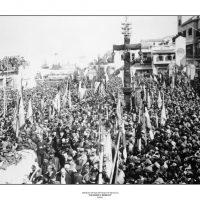 69. H κηδεία του Ελευθερίου Βενιζέλου, Χανιά, Μάρτιος 1936. / The funeral of Eleftherios Venizelos. Hania, March 1936.