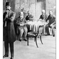 14. Οι διαπραγματεύσεις κατά τη Διάσκεψη Ειρήνης του Λονδίνου, Δεκέμβριος 1912. / The negotiations during the London Peace Conference, December 1912.