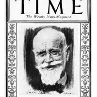 42. Αφιέρωμα περιοδικού στον Ελευθέριο Βενιζέλο (Περ. Time, 18 Φεβρουαρίου 1924). / Homage of the Time magazine to Eleftherios Venizelos (Magazine Time, February 18, 1924).