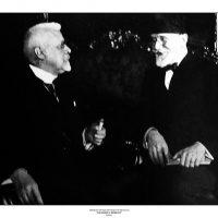 51. Ο Ελευθέριος Βενιζέλος με τον Καγκελάριο της Αυστρίας Σόμπερ. Βιέννη, Αύγουστος 1929. / Eleftherios Venizelos with the Austrian Chancellor Schober. Vienna, August 1929.
