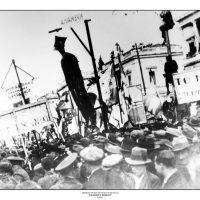 66. Διαδήλωση μετά το κίνημα του Μαρτίου 1935. / Demonstration after the coup of March 1935.